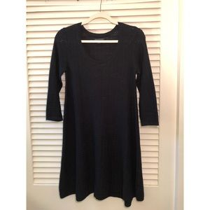 American Eagle Black Sweater Dress